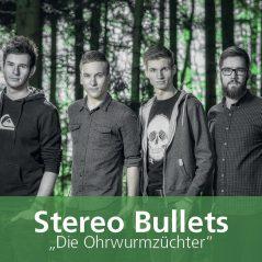 Stereo Bullets – Visitenkarte Rückseite